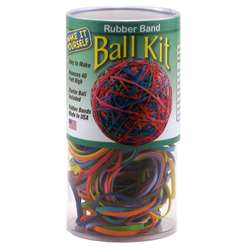 Rubber Band Ball Kit In Storage Tube - Tpg501T By The Pencil Grip