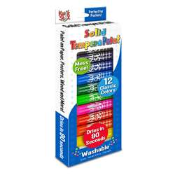 Kwik Stix Tempera Paint 12Pk Prime Colors, TPG602