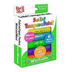 Kwik Stix Solid Paint Neon Colors 6Ct, TPG610
