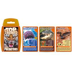 Predators Top Trumps Card Game, TPU000421