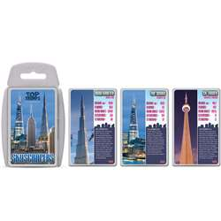 Skyscrapers Top Trumps Card Game, TPU000506