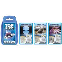 Creatures Of The Deep Sea Top Trumps Card Game, TPU000810
