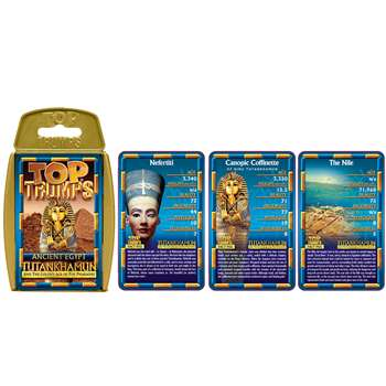 Ancient Egypt Top Trumps Card Game, TPU001626