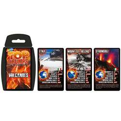 Volcanoes Top Trumps Card Game, TPU001640