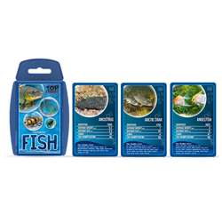 Freshwater Fish Top Trumps Card Game, TPU001909