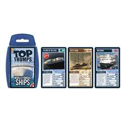 World Famous Shipstop Trumps Card Game, TPU002098