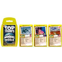 Wonders Of The World Top Trumps Card Game, TPU002289
