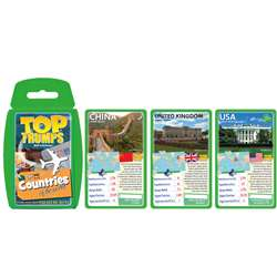 Countries Of The World Top Trumps Card Game, TPU002296