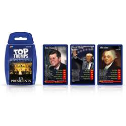Us Presidents Top Trumps Card Game, TPU002395