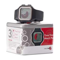 Time Timer Watch Plus Lg Charcoal, TTMTTW8AW