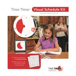 Time Timer Visual Schedule Kit, TTMVSK11