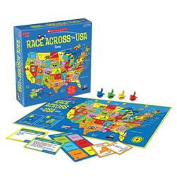 Scholastic Race Across The USA Game, UG-00701