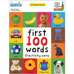 First 100 Words Activity Game, UG-01301