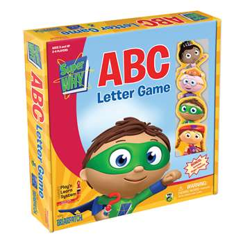 Super Why Abc Letter Game, UG-01333