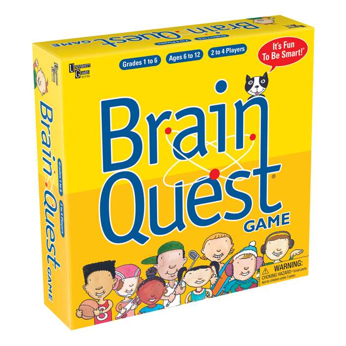 Brain Quest Game - Ug-01710 By University Games