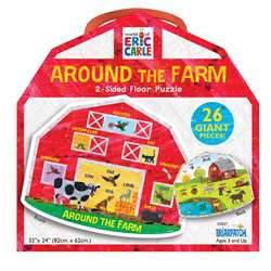 Around The Farm 2-Side Floor Puzzle The World Of E, UG-33837