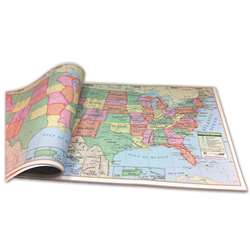 United States Study Pads - Uni16308 By Kappa Map Group / Universal Maps