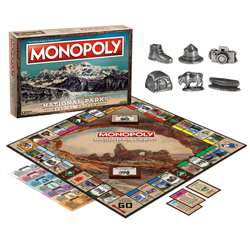 Monopoly National Parks Edition, USAMN025000