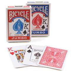Bicycle Jumbo Index Playing Cards, USP1004560