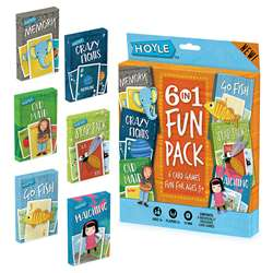 "Hoyle 6 "" 1 Fun Pack Classic Childrens Games, USP1036723"