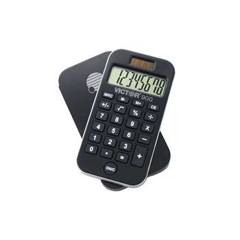 Pocket Calculator W/ Antimicrobial Protection, VCT900