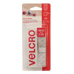 Velcro Tape 3/4 X 18 Strips White - Vec90079 By Velcro Usa