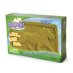 Moon Sand Lunar Yellow 5 Lb Box, WAB130103