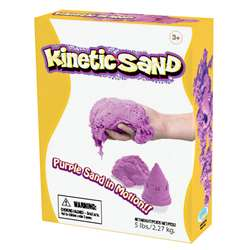 Kinetic Sand 5Lb Purple, WAB150503