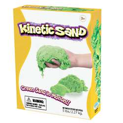 Kinetic Sand 5Lb Green, WAB150703