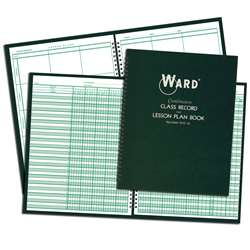 Class Record & Lesson Plan Combo Books - War91016 By Ward The Hubbard