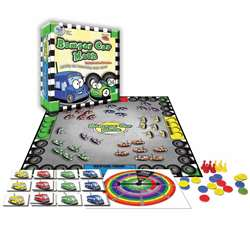 Bumper Car Math Game Multiplication Division - Wca4223 By Wiebe Carlson Associates
