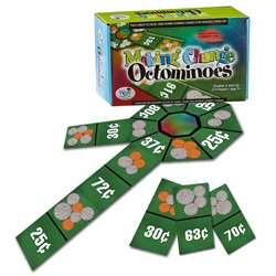 Making Change Octominoes Game - Wca4522 By Wiebe Carlson Associates