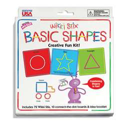 Wikki Stix Basic Shapes Kit - Wkx705 By Wikki Stix