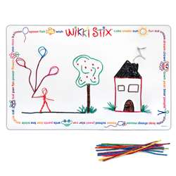 Shop Wikki Stix Laminated Play Mat 14X22 - Wkx901 By Wikki Stix