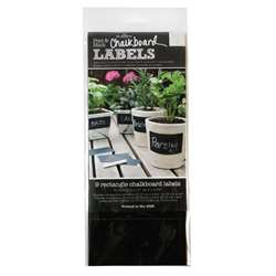 Rectangle Labels Wallies Chalkboard, WLE16044