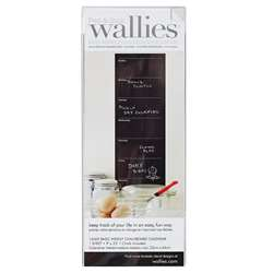 Weekly Wall Calendar Wallies Chalkboard, WLE16069