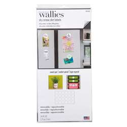 Dot Labels Wallies Dry Erase, WLE16205