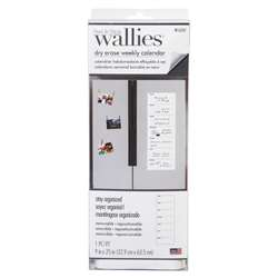 Weekly Calendar Wallies Dry Erase, WLE16207