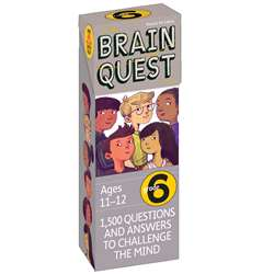 Shop Brain Quest Gr 6 - Wp-16656 By Workman Publishing