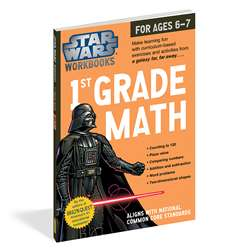Star Wars Workbook Math Gr 1, WP-17808