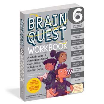 Brain Quest Workbook Grade 6, WP-18243