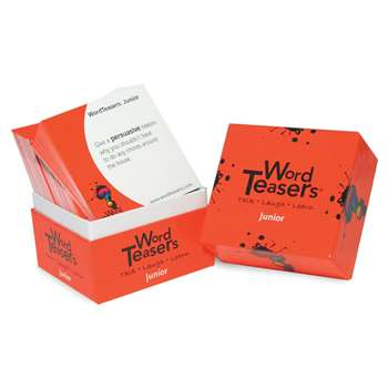 Wordteasers Flash Cards Junior - Wt-2296 By Word Teasers