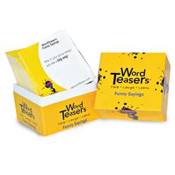 Wordteasers Flash Cards Funny Sayings - Wt-7212 By Word Teasers