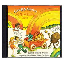 Shop We All Live Together Volume 2 Cd Greg & Steve - Ym-002Cd By Creative Teaching Press