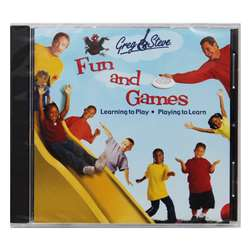 Greg & Steve Fun And Games Cd - Ym-018Cd By Greg & Steve Productions