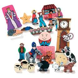 Nursery Rhyme Wooden Figures, YUS0117