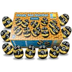 Honey Bee Number Stones, YUS1094