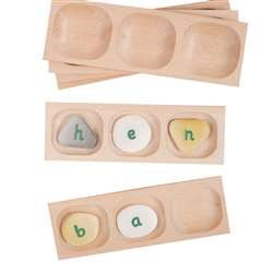 Pebble Word Building Tray, YUS1108
