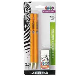 Cadoozles 2Pk Mechanical Pencils Blk Lead, ZEB52802