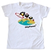 Toddler tee featuring Olly and friends on the beach